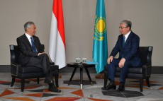 President Kassym-Jomart Tokayev met with Prime Minister of Singapore Lee Hsien Loong
