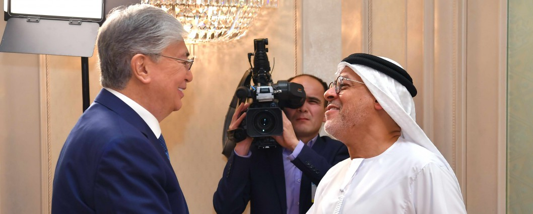Kassym-Jomart Tokayev met with Hussain Jasim Al Nowais, the Chairman of the Group of Companies Al Nowais Investments