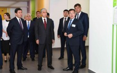 The President of Kazakhstan visited the new clinic in Karaganda