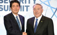 Meeting with Prime Minister of Japan Shinzo Abe on the sidelines of Nuclear Security Summit