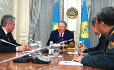 Meeting with Sergey Shoigu, Minister of Defense of the Russian Federation
