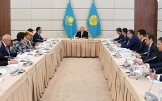 "Participation in the meeting of the Supreme Board of Trustees of ""Nazarbayev University"", ""Nazarbayev Intellectual Schools"" and ""Nazarbayev Foundation"" Autonomous Educational Organizations"